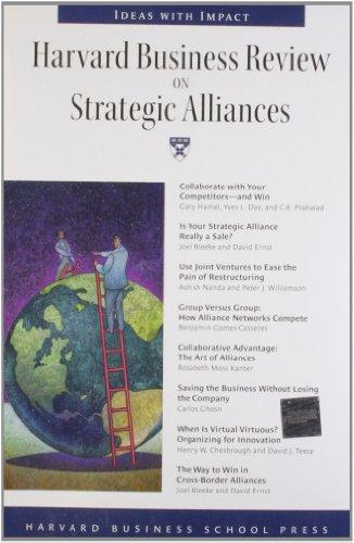 9781591391333: Harvard Business Review on Strategic Alliances