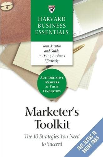 Marketer's toolkit. the 10 strategies you need to succeed