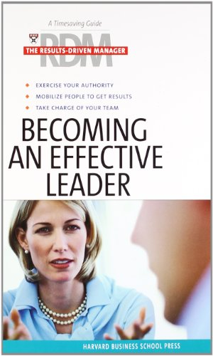 9781591397809: Becoming an Effective Leader (Results Driven Manager)