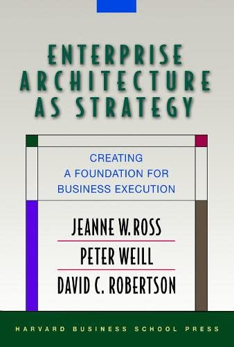 9781591398394: Enterprise Architecture As Strategy: Creating a Foundation for Business Execution