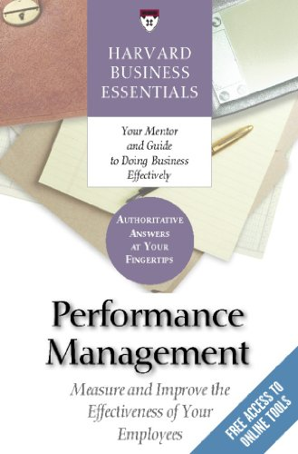 9781591398424: Harvard Business Essentials: Performance Management: Measure and Improve the Effectiveness of Your Employees