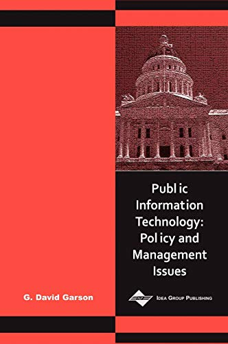 9781591400608: Public Information Technology: Policy and Management Issues