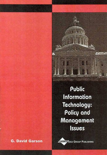 9781591400714: Public Information Technology: Policy and Management Issues