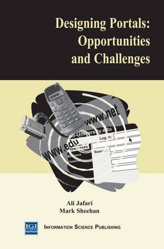 Designing Portals : Opportunities and Challenges: Ali Jafari