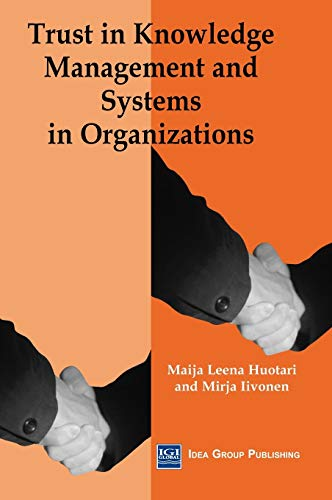 9781591401261: Trust in Knowledge Management and Systems in Organizations