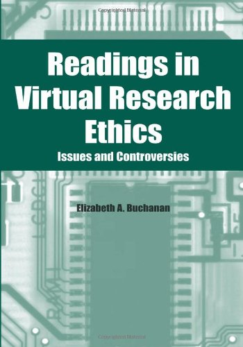 9781591402893: Readings in Virtual Research Ethics: Issues and Controversies