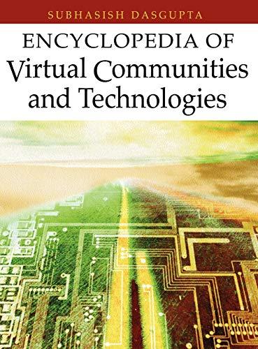 Encyclopedia of Virtual Communities and Technologies: Subhasish Dasgupta