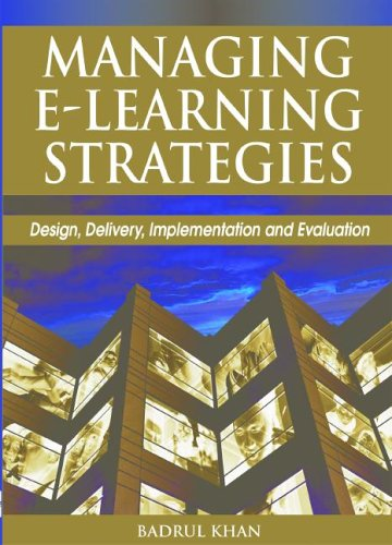 9781591406358: Managing E-Learning Strategies: Design, Delivery, Implementation and Evaluation
