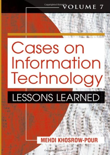Cases on Information Technology: Lessons Learned Volume 7 (Paperback)
