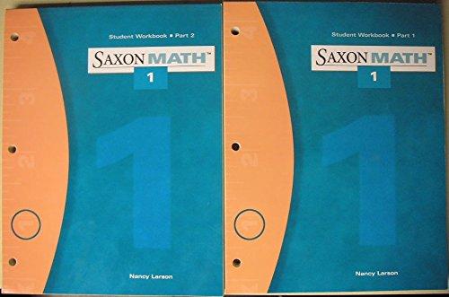 9781591411307: Saxon Math Student workbook Part 1 and Part 2 -Grade 1 (Math 1)