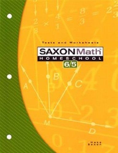 9781591412588: Saxon Math 6/5: Student Test & Practice Generator