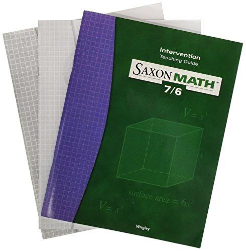 9781591412793: Saxon Math 7/6: Teaching Guide (Level 7/6) Intervention 2000