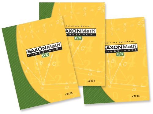9781591413325: Saxon Math 6/5: Homeschool Set/Box