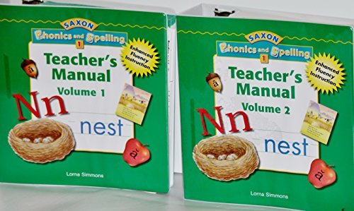 9781591416296: Saxon Phonics & Spelling 1: Teacher Edition Package