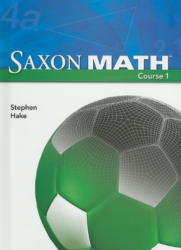 9781591417835: Saxon Math, Course 1