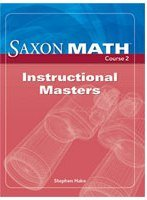 9781591418696: Saxon Math Course 2: Instructional Masters