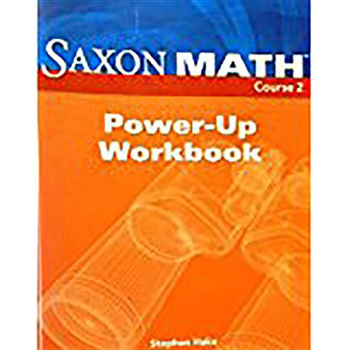9781591418733: Saxon Math, Course 2: Power-Up- Workbook