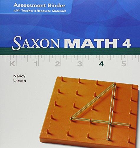 9781591419464: Saxon Math 4: Teacher Materials