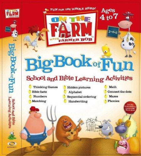 9781591453048: On the Farm Big Book of Fun Learning (On The Farm With Farmer Bob)