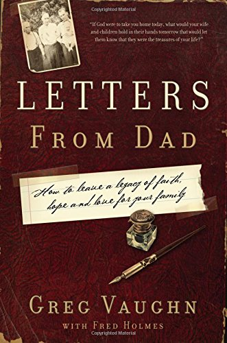 Letters from Dad: Greg Vaughn