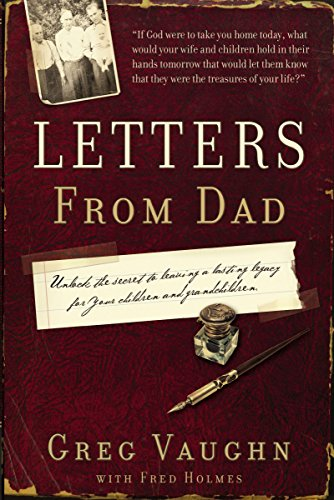 Letters from Dad: Greg Vaughn; Thomas