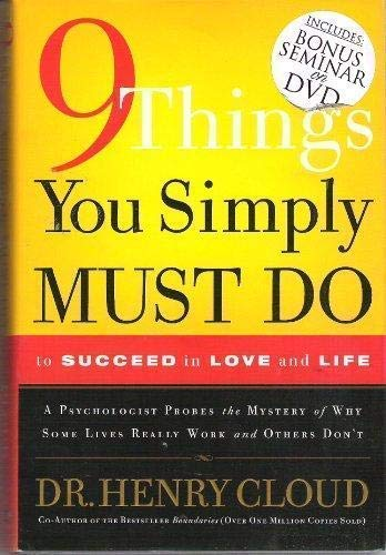 9781591454144: 9 Things You Simply Must Do to Succeed in Love and Life