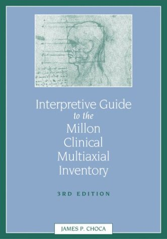 9781591470403: Interpretive Guide to the Millon Clinical Multiaxial Inventory (3rd Edition)