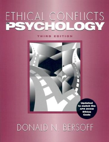 9781591470502: Ethical Conflicts in Psychology