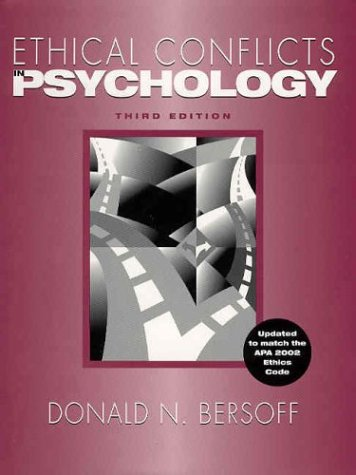 9781591470519: Ethical Conflicts in Psychology