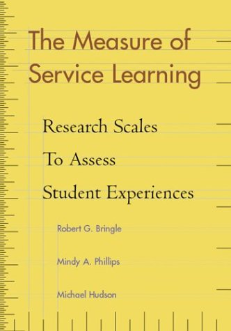 Measure of Service Learning: Research Scales to Assess Student Experiences