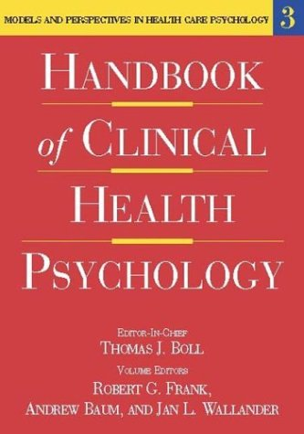 9781591471066: Handbook of Clinical Health Psychology, Volume 3: Models and Perspectives in Health Psychology