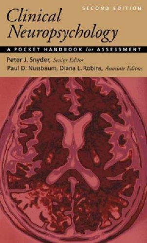 9781591472834: Clinical Neuropsychology: A Pocket Handbook for Assessment