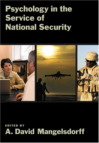 9781591473558: Psychology in the Service of National Security