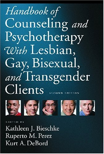 9781591474210: Handbook of Counseling and Psychotherapy with Lesbian, Gay, Bisexual, and Transgender Clients