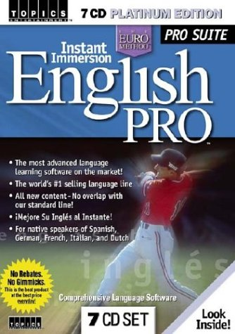 9781591500599: Instant Immersion English Pro