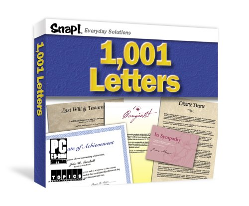 9781591500988: 1001 Essential Letters (Snap! Everyday Solutions)
