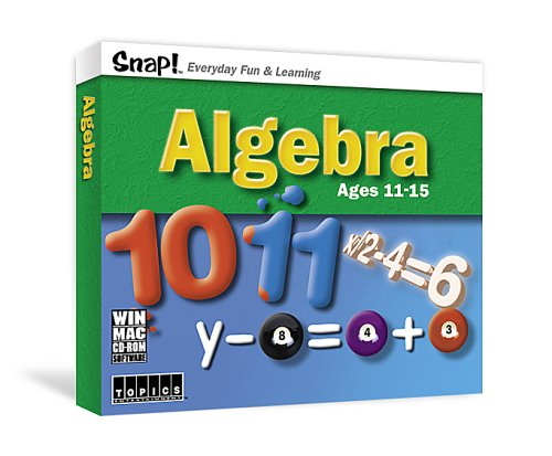 9781591501589: Algebra (Snap! Everyday Fun & Learning) Ages 11-15