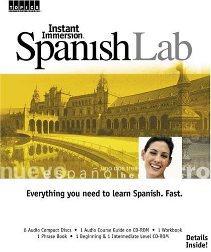 Instant Immersion Spanish Lab (Spanish and English: Topics Learning