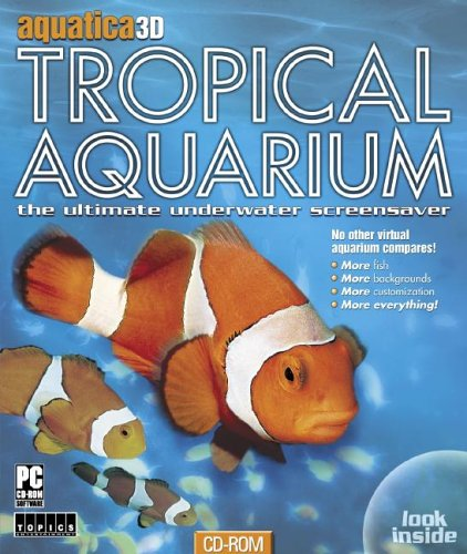 9781591506515: Aquatica 3D Tropical Aquarium: The Ultimate Underwater Screensaver