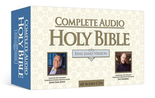 Complete Audio Holy Bible King James Version: James Earl Jones