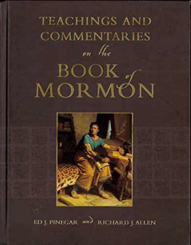9781591562962: Teachings and Commentaries on the Book of Mormon