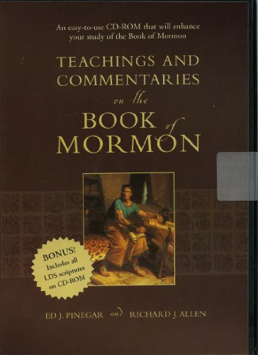 9781591562979: Teachings and Commentaries on the Book of Mormon