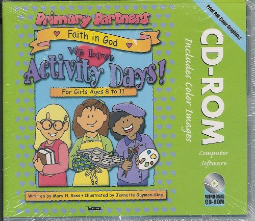 9781591563440: Faith in God: We Love Activity Days (Primary Partners)