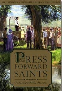 9781591566717: Press Forward Saints (Daily Inspirational Thoughts)