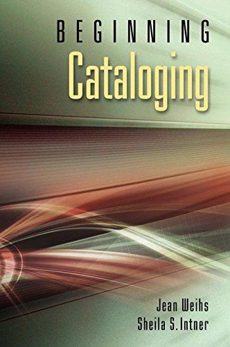 9781591586876: Beginning Cataloging