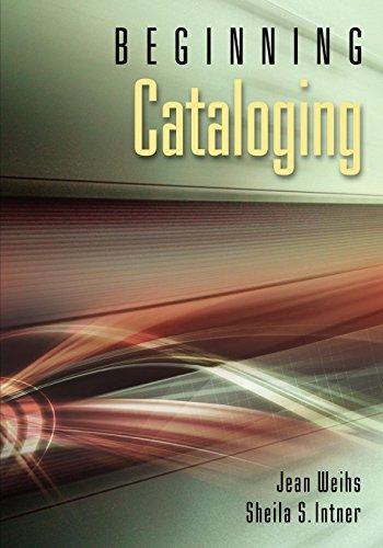 9781591588399: Beginning Cataloging