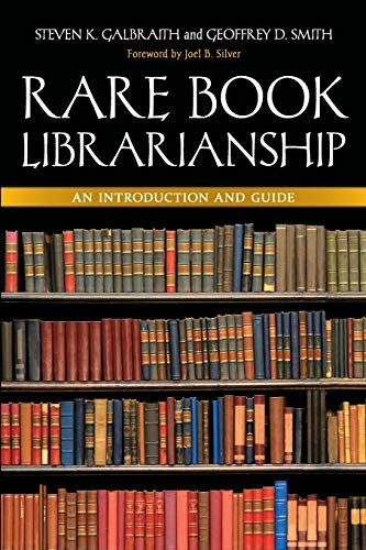 9781591588818: Rare Book Librarianship: An Introduction and Guide