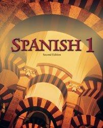 9781591661672: Spanish 1 Student Text (Spanish Edition)