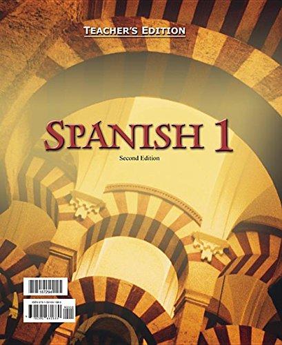 9781591661689: Spanish 1: For Christian Schools Teacher's Edition (Bob Jones)
