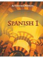 9781591661696: Spanish 1: Activities Manual (Spanish Edition)